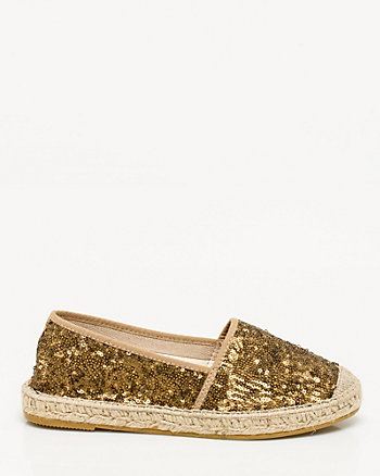 Spanish-Made Sequin Espadrille