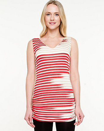 Viscose Stripe Tunic