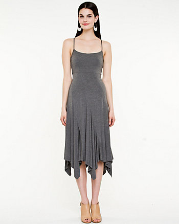 Jersey Knit Halter Dress