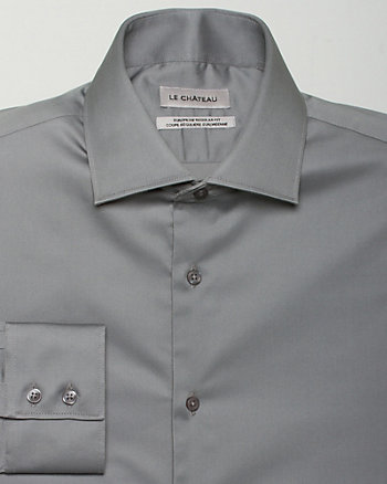 Stretch Sateen Euro Fit Shirt