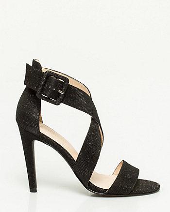 Metallic Strappy Sandal