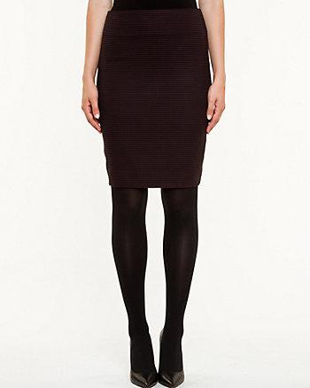 Houndstooth Modern Fit Pencil Skirt