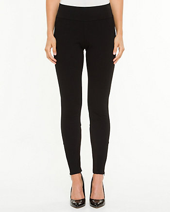 Ponte Knit Fitted Pant