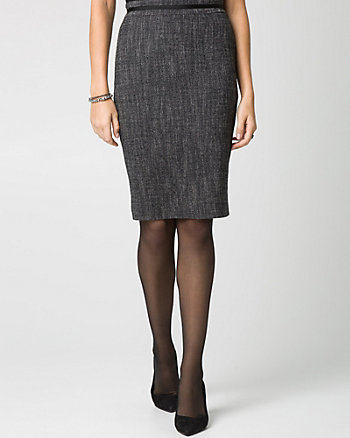 Tweed Modern Fit Pencil Skirt