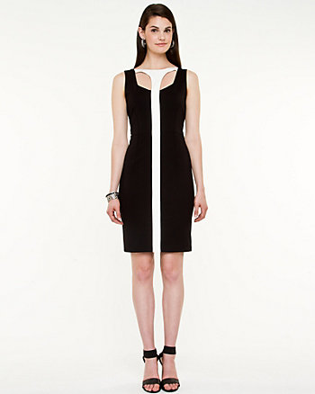 Ponte Cut-Out Dress