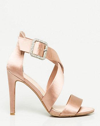 Satin Strappy Sandal