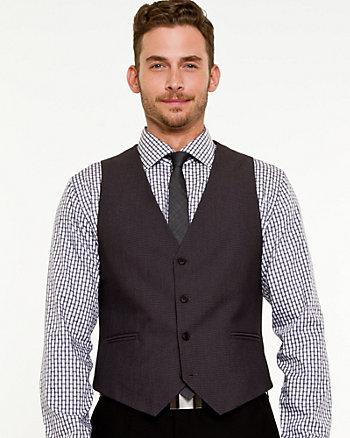 Tonal Contemporary Fit Vest