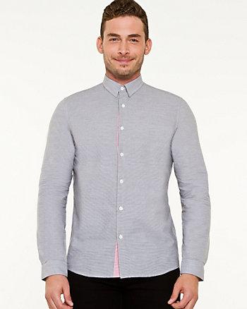 Stripe Cotton European Fit Shirt