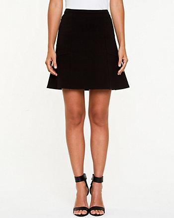 Ponte Flare Skirt