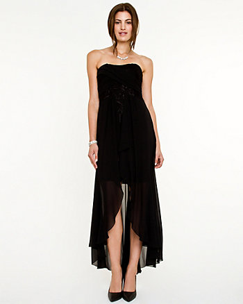 Chiffon Sweetheart High-low Dress