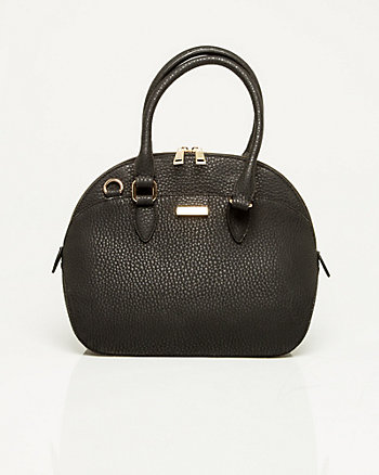 Leather-like Bowling Bag