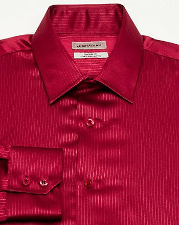 Satin Tailored Fit Shirt