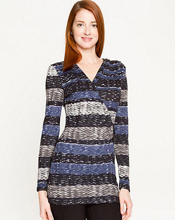 Cut & Sew Stripe Tunic