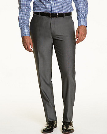 Wool Blend Tapered Pant