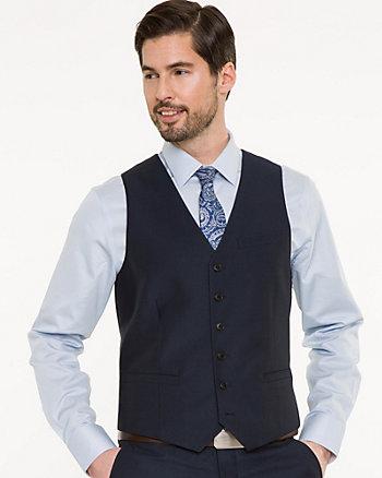 Piqué Contemporary Fit Vest
