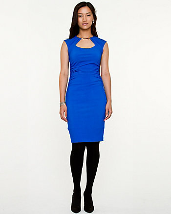 Knit Ruched Dress