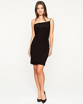 Knit One Shoulder Dress