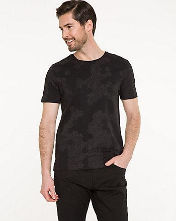 Camo Print Cotton T-shirt