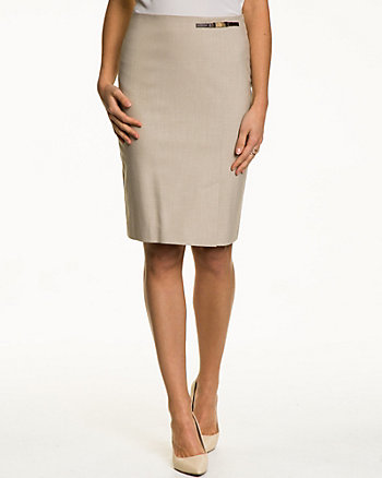 End-on-end Pencil Skirt