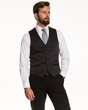 Sateen Contemporary Fit Vest