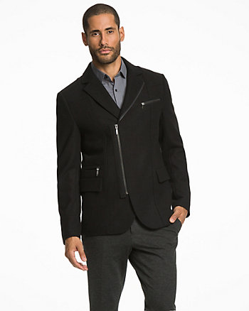 Melton Tailored Fit Blazer