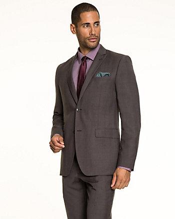 Tonal Woven Contemporary Fit Blazer