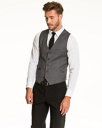 Viscose Blend Contemporary Fit Vest