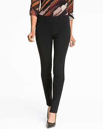 Double Weave Straight Leg Pant