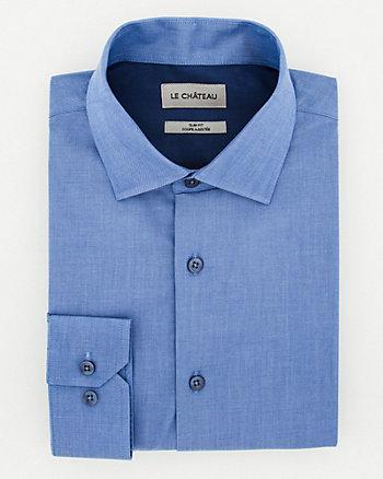 Cotton Twill Slim Fit Shirt