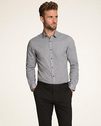 Novelty Pattern Slim Fit Shirt