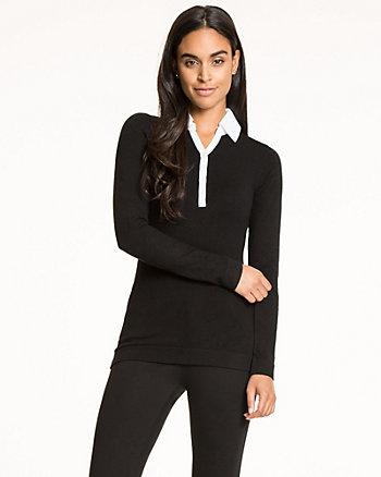 Viscose Blend Combo Sweater
