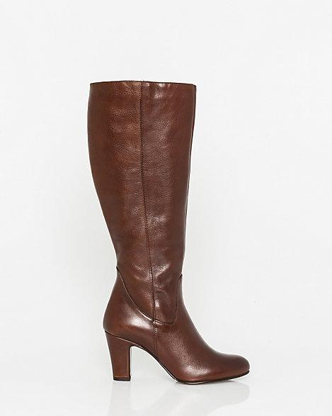 le ch 226 teau italian designed leather knee high boot