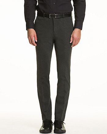 Stretch Woven Tapered Leg Pant