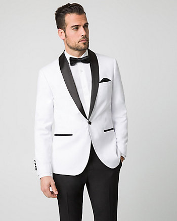 Twill Contemporary Fit Blazer