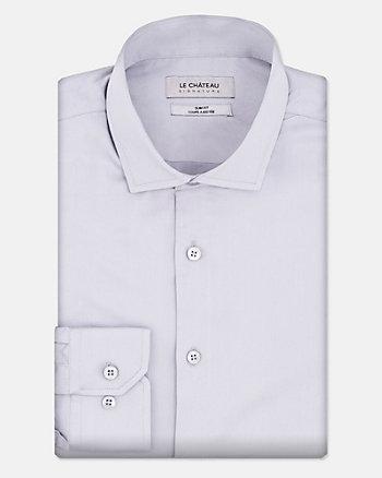 Cotton Sateen Slim Fit Shirt
