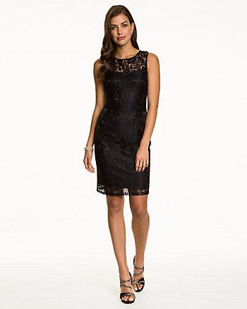 Lace Illusion Dress
