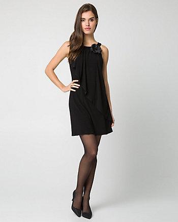 Knit Halter Neck Cocktail Dress