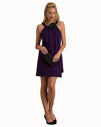 Jersey Halter Neck Dress