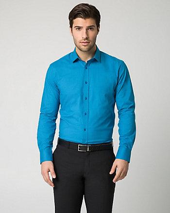 Novelty Print Cotton Blend Shirt