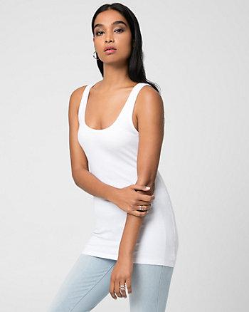Cotton & Modal Blend Scoop Neck Camisole