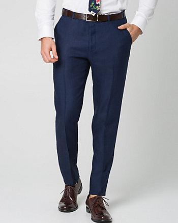 Linen Tapered Leg Pant