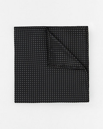 Lurex Novelty Print Pocket Square