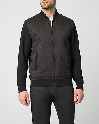 Ponte Knit Slim Fit Jacket
