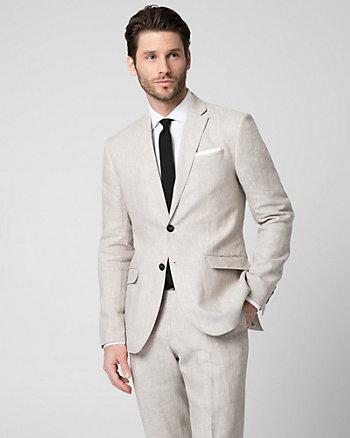 Linen Contemporary Fit Blazer
