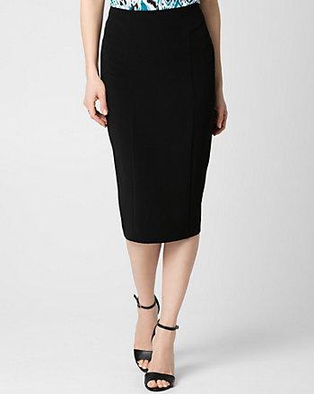 Double Weave Midi Skirt