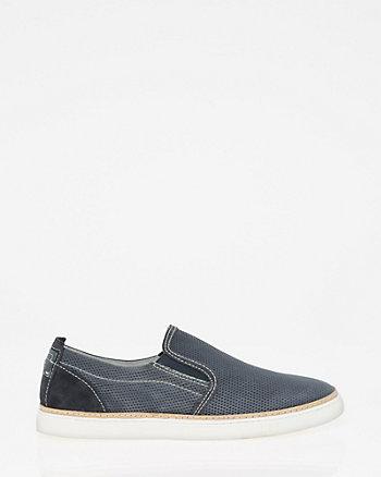Suede Slip-On Sneaker