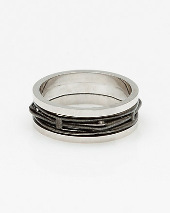 Silver Cutout Ring