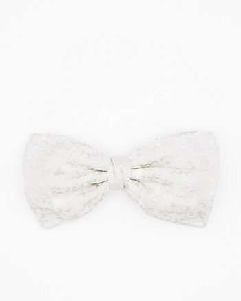 Italian-Made Novelty Print Silk Bow Tie