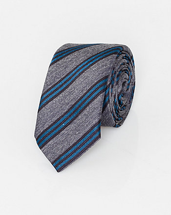 Italian-Made Stripe Tie