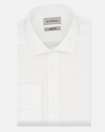Tonal Twill Regular Fit Dress Shirt
